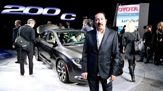 Saudi Auto - Chrysler 200 C Launch at the NAIAS 2014. 2015 C200 سعودي أوتو - تدشين كرايسلر