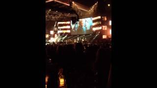 Elton John singing/performing