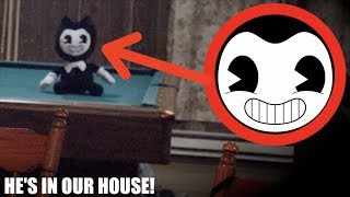 I FOUND BENDY IN REAL LIFE! *He Was In Our House*