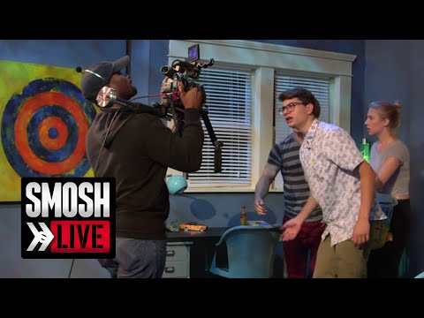 GETTING READY FOR SMOSH LIVE! (BTS)