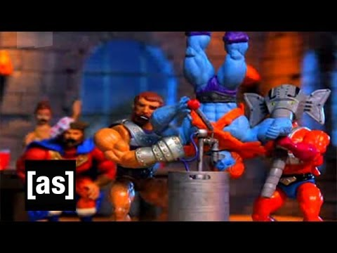 Faker Crashes the Party Robot Chicken Adult Swim