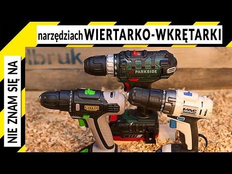 Porównanie wkrętarek Niteo Tools, Parkside, MacAlister