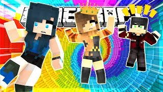 FALLING TO OUR DEATH!! WE DROP 100,000 FT!! MINECRAFT DROPPER!