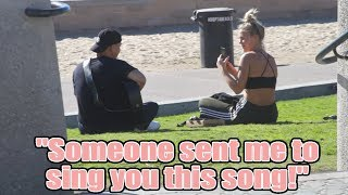 Serenading REAL LIFE Strangers!? - PUBLIC SERENADING PRANK #3