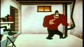 Old Cartoons - Popeye: Floor Flusher (Popeye The Sailor Man)