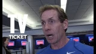 SKIP BAYLESS DISRESPECTS ANTHONY DAVIS AND GETS CHECKED FOR IT!