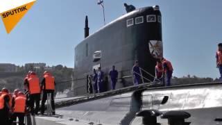 """زیردریایی """"کراسنودار"""" به ناوگان روسیه در دریای سیاه پیوست"""
