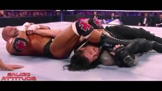 Roman Reigns Vs Triple H WrestleMania 32 Highlights