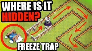 """Clash Of Clans - """"THE FROZEN SNAKE!"""" - EPIC FREEZE TRAP TROLL BASE!"""
