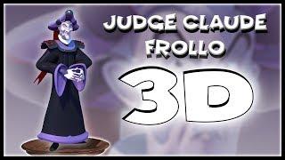 +3D Model Preview+ Judge Claude Frollo