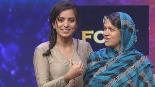 Nayika Nayakan l Ann Saleem in Aparan round I Mazhavil Manorama