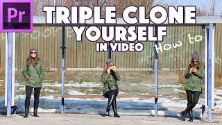 📖 Triple Clone Yourself | Premiere Pro CC Tutorial