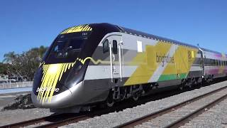 VIDEO - First Brightline ride from West Palm to Ft. Lauderdale
