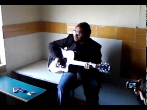 awesome song by salil on his guitar