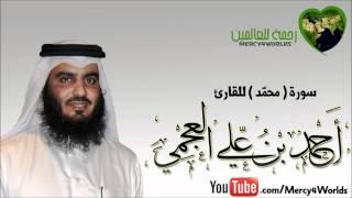 سورة محمّد - الشيخ أحمد بن علي العجمي - تلاوة خاشعة