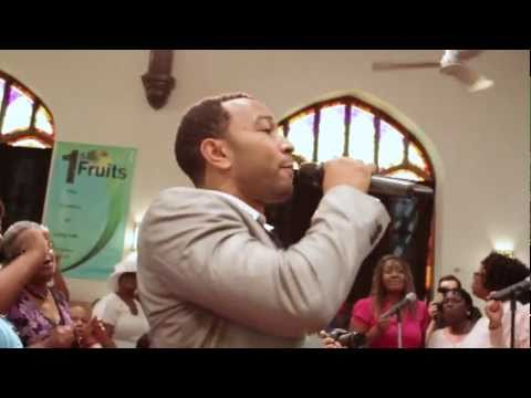 John Legend surprises Baptist Church in West Philly How I Got Over