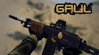 Zula - Weapon of the day #21 | GALIL Assault Rifle | Kills Montage