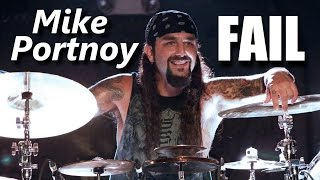 Mike Portnoy FAIL | RockStar FAIL