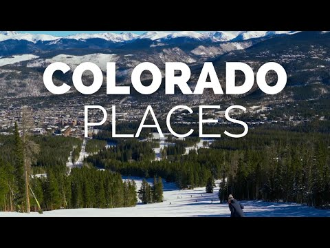 10 Best Places to Visit in Colorado Travel Video