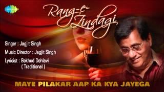 Maye Pilakar Aap Ka Kya Jayega | Ghazal Song | Jagjit Singh
