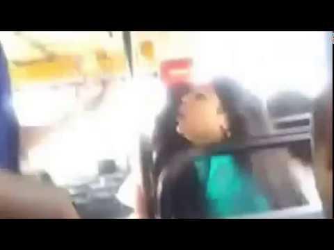 Sexy Kerala college girl on BUS