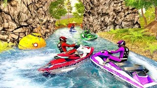 Water Jet Ski Boat Racing 3D Game   Android GamePlay - Free Games Download - Racing Games Download