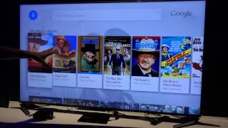 SHARP Android TV Demo in 2015 International CES