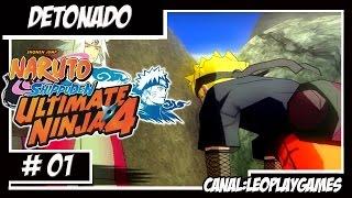 Naruto Shippuden Ultimate Ninja 4 Detonado # 01 PT-BR Treinamento de Naruto e Jiraya【Full HD 60 FPS】