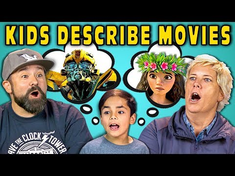 CAN PARENTS GUESS MOVIES DESCRIBED BY KIDS React