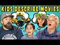 CAN PARENTS GUESS MOVIES DESCRIBED BY KIDS? (React)