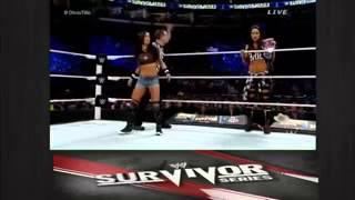 Nikki Bella vs AJ Lee WWE Survivor Series 2014 Full Match