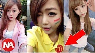 La Mujer Más Bella y Sexy de China, Trabaja en McDonald's