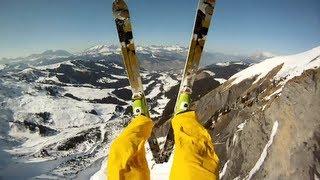 GoPro HD: Avalanche Cliff Jump with Matthias Giraud