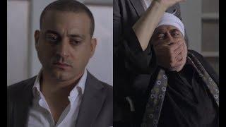 """مشهد لا يتكرر ... """" الابن يقتل ابوه """" 😱دياب يخنق صبري عبدالمنعم حتى الموت """" انت عاجز """" #الأب_الروحي"""