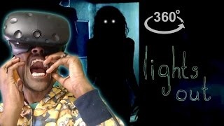 I'm Never Turning My Lights Off!! | 360° Horror | Inspired By Lights Out REACTION