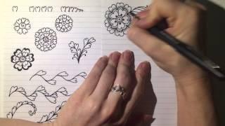 Henna Alphabet: Element