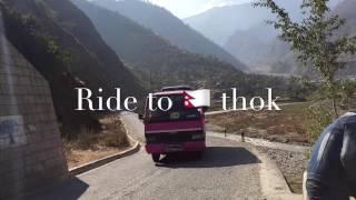 Nepal - Ride to nepalthok