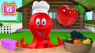Fruit for kids. Learn Fruit -  Animation for kids