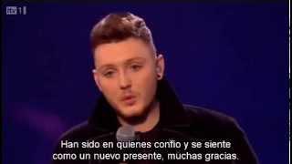 James Arthur Semana 10 - Feeling Good - X Factor UK 2012 (Subtitulado a español)