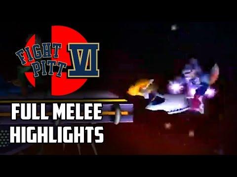 watch Fight Pitt VI - Full Smash Melee Highlights - By Jampanos
