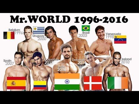Xxx Mp4 Mister World Title Holder 1996 2016 Complete List Of Mr Worlds 3gp Sex