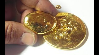 24K pure GOLD: the refining process PART 2
