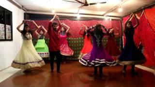 Navratri Special |'Shubhaarambh & Nagada Sang Do'l Song | Garba & Dandiya Raas|Rouser Dance Academy