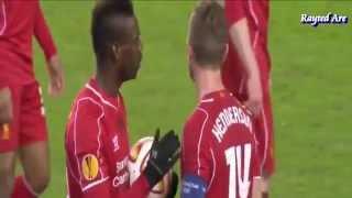 Liverpool players reaction to Mario Balotelli's goal vs Besiktas
