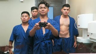 FOUR GUYS GETTING MASSAGES   Philippines Trip Part 4