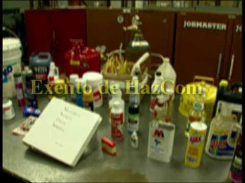 Métodos de evaluación de riesgos químicos