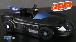 Justice League Action Batman and Transforming Batcycle from Mattel