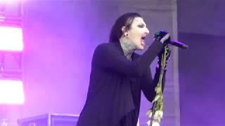 Motionless In White : Necessary Evil, live @ Download Festival, UK 2017