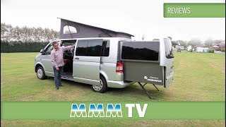 VW Van Conversion - Danbury Doubleback 2013 - motorhome review