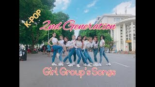 [KPOP IN PUBLIC CHALLENGE] Medley 2nd Generation Girl Group